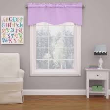 Gray Eclipse Curtains Eclipse Kendall Blackout Wave Girls Bedroom Curtain Valance