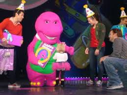 barney purple dinosaur true hollywood story papa