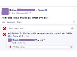 black friday target meme man poses as target on facebook then comically responds to