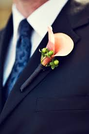coral boutonniere unique wedding boutonnieres weddings start here