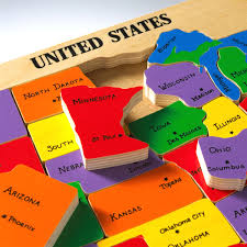 us map puzzle united states map puzzle states and capitals ambear me