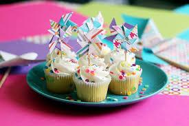 cupcake toppers diy pinwheel cupcake toppers kavett