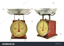 Vintage Kitchen Scales Vintage Scales Old Scales Antique Scales Stock Photo 527794513