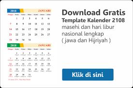 Kalender 2018 Hari Libur Indonesia Cetak Kalender Murah Cetak Kalender 2018 Murah