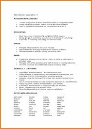 resume skills and abilities exles sales 7 resume skill prefix chart