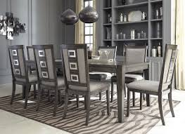 Expandable Dining Room Table Chadoni Gray Rectangular Extendable Dining Room Set From Ashley