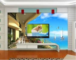3d Wallpaper For Living Room by Online Get Cheap Balcony 3d Wallpaper Aliexpress Com Alibaba Group