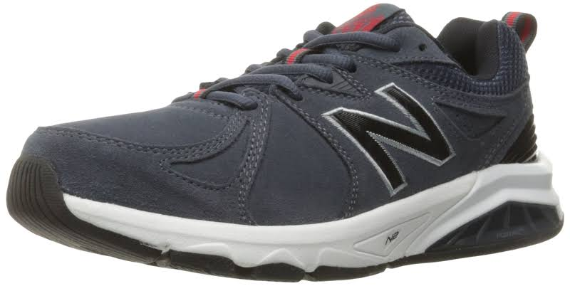 New Balance 857v2 Cross-Training Charcoal Blue Suede
