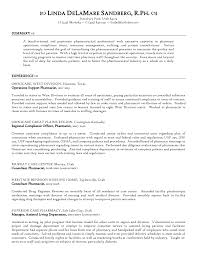 Resume Examples For Pharmacists by 100 Retail Pharmacist Resume Sample Pharmacy Technician Resume