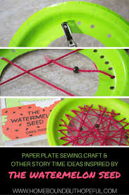 summer story time ideas with the watermelon seed early math and