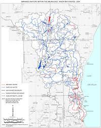 Map Of Milwaukee Milwaukee River Basin Gets C On Its Report Card Wuwm