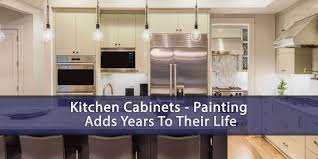 kitchen cabinets painting adds years to their life eagle