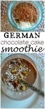 german chocolate cake smoothie