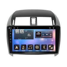 toyota car stereo inch 2006 2013 toyota corolla android 6 0 radio gps navigation car