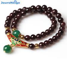 garnet gemstone bracelet images Wholesale natural garnet stone bracelets wine red bead with jpg