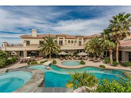 home with pool multi million dollar homes with pools las vegas hende