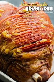 pineapple glazed ham easy ham recipe