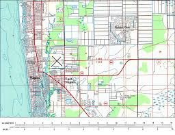 map of naples fl naples and east naples 1985