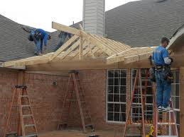 How To Build A Freestanding Patio Roof by Build Shed Roof Patio Cover Build Porch Roof Designs Karenefoley