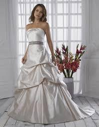 wedding dresses with sash ribbon fabulous strapless pin sash ribbon side draped taffeta