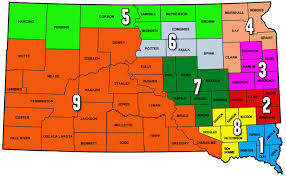 Map South Dakota Sd Corn Utilization Council South Dakota Corn