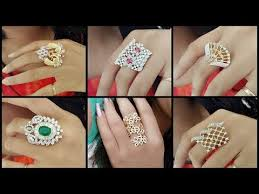 beautiful big rings images Latest trend finger rings designs beautiful big finger ring jpg