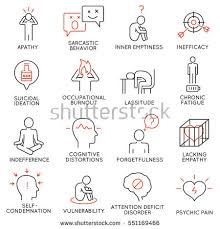 vector set 16 icons related career stock vector 662585881