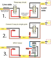 pole switch wiring diagram carlplant also toggle changeover 2