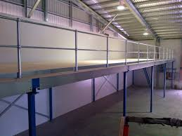 mezzanine floors raised floors melbourne dynamic warehouse