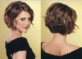 back view wavy short bob for thick hair 2015 11 best selection short layered bob hairstyles angled inverted