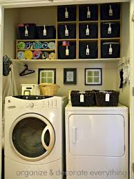 small room design ideas for small laundry room organization