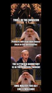Omg No One Cares Meme - i found this rather amusing harry potter harry potter memes and