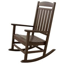 post natural mission patio rocker 08100885 home depot