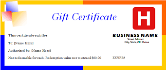 travel gift certificates travel gift certificate template for word document hub