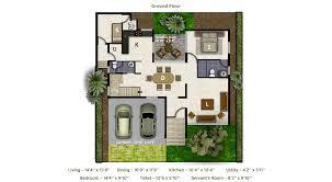 Antilla Floor Plan Villas In Bangalore For Sale Maximizing Space With Class Villa