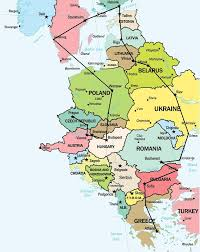 West Europe Map Eastern Europe Travel Route Travel And Places Pinterest