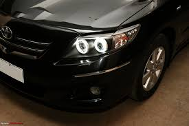 toyota altis modded toyota corolla altis projector ccfl angel eyes spoilers