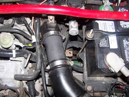 protege 5 air intake hose cracked