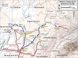 Fort Bragg Map File Acw Western Theater September 1861 April 1862 Png