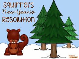 new year s resolutions books primary graffiti squirrel s new year s resolution book companion