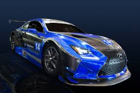 lexus rc f road and track f performance racing to field the lexus rc f gt3 motrface