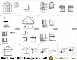 10x10 traditional victorian garden shed plans icreatables com