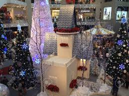 christmas decoration at shopping mall stock photo picture and