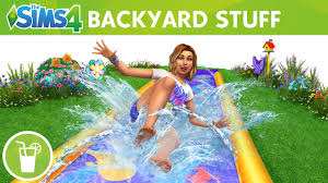 the sims 4 backyard stuff official trailer youtube