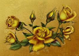 Golden Roses Golden Rose By Chamirra On Deviantart