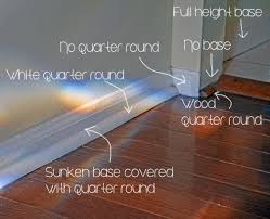 Door Strips For Laminate Flooring Base Moulding What Not To Do