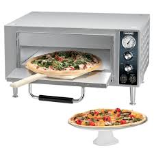 waring wpo500 single deck countertop pizza oven 120v