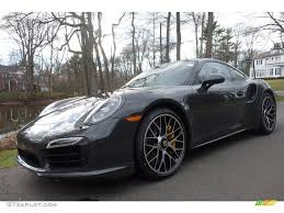 porsche coupe 2016 2016 slate grey paint to sample porsche 911 turbo s coupe