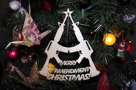 bullet ornaments ar 15 bolt ornament merry 2nd amendment