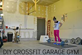 Design My Garage Simply Sadie Jane Diy Crossfit Garage Gym Part 1
